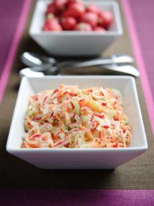 Celery & Radish Coleslaw