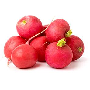 Red round radish